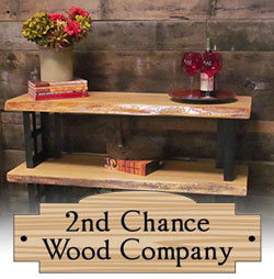 Enter to Win a Handcrafted Wooden Shelf!