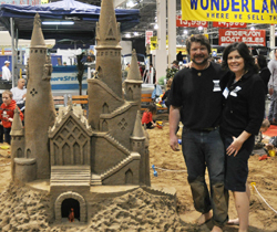 Giant Sand Castle Build