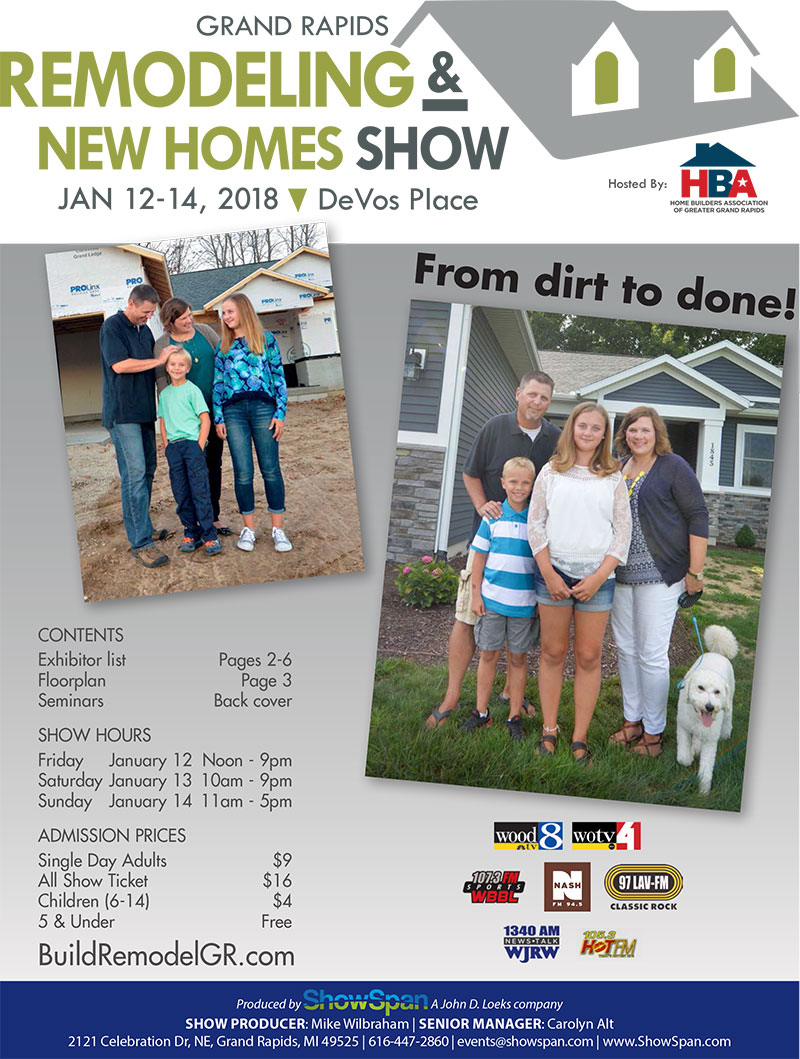 Home design and remodeling show grand rapids.