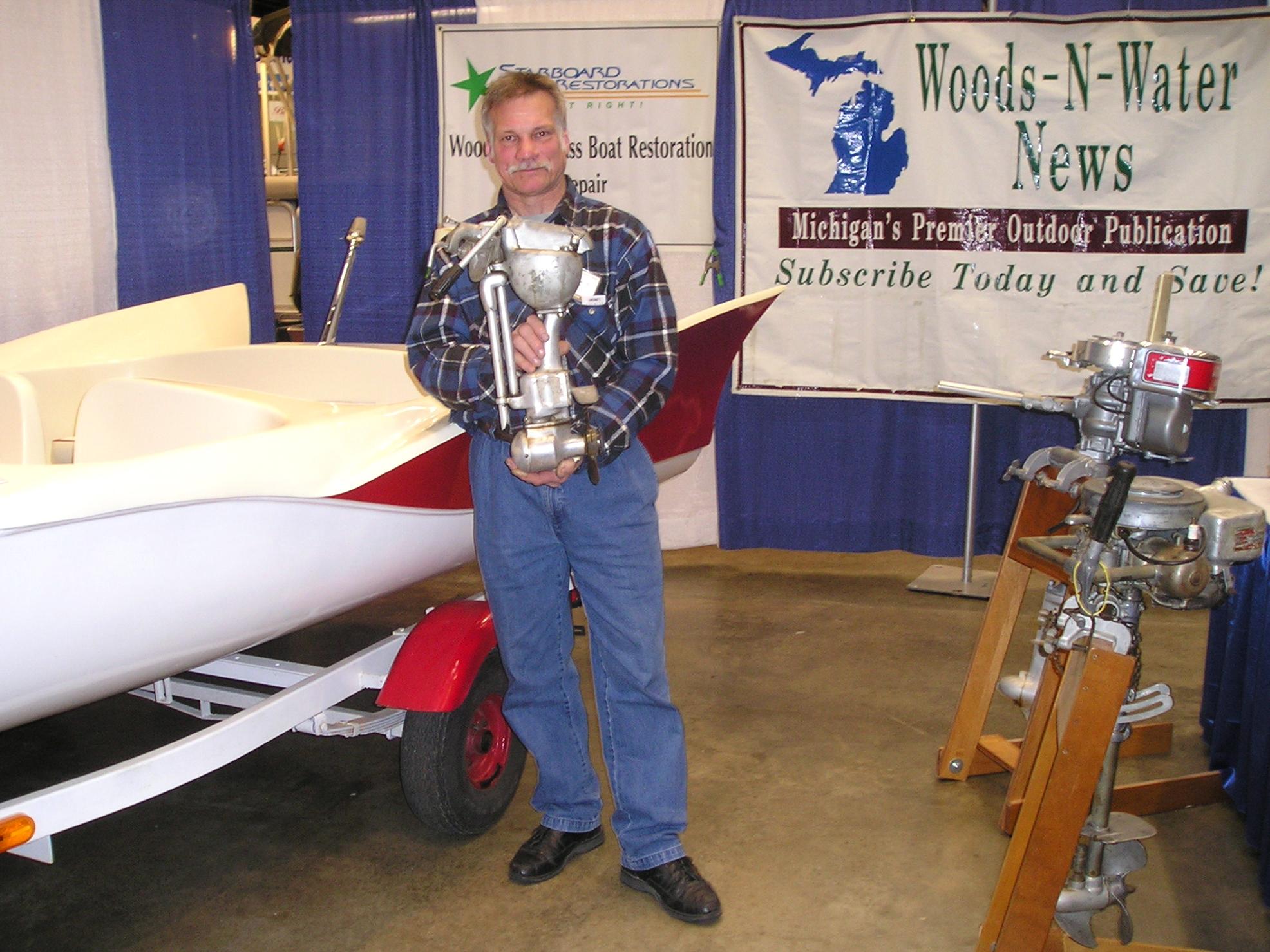 Vintage Boats & Outboard Motors
