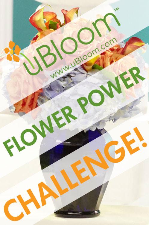 uBloom Flower Power Challenge!